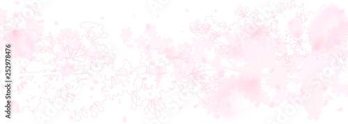 幻想的な桜