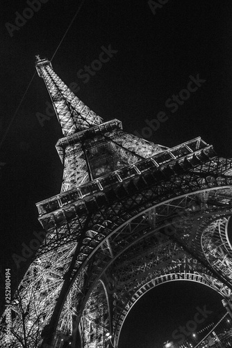eiffel tower in paris #252980494
