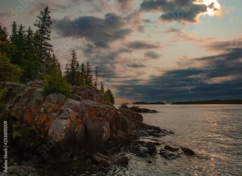 Obraz na plátne 529-88 Storm Approaching Shore