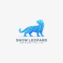 Abstract Snow Leopard Concept ...