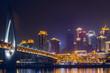 bridge at night