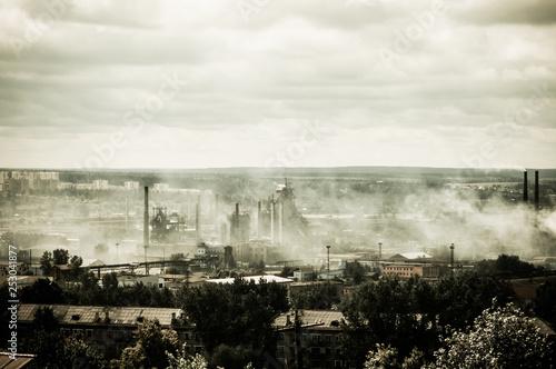 Fotografia  industrial city