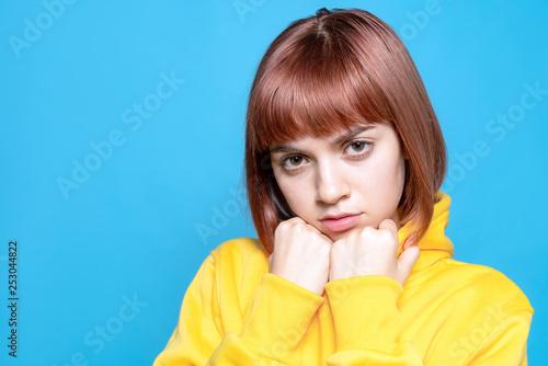 Fotografie, Obraz  パーカーを着た少女