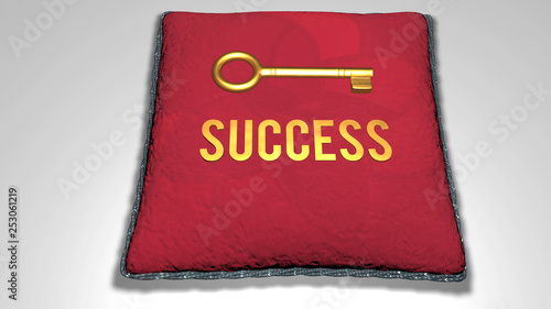 success concept animation Wallpaper Mural