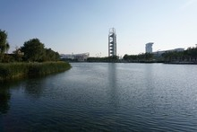 Beijing Olympic Park And The B...