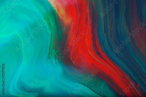 Fotografie, Obraz  color paint abstract background
