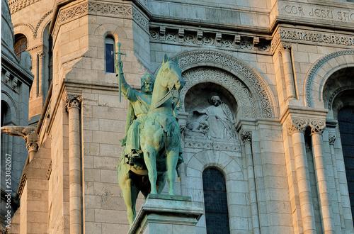 Fotomural Statue, King Louis IX of France (St Louis)