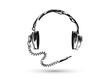 Retro Kopfhörer mit Kabel