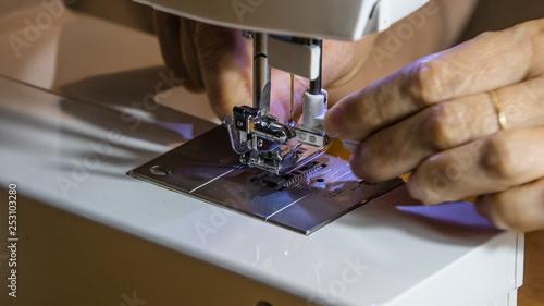 Fotografia, Obraz  Maquina de costura