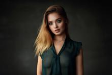 Beautiful Young Female Model