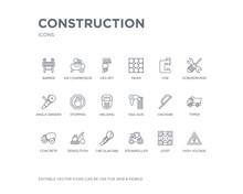 Simple Set Of Construction Vec...