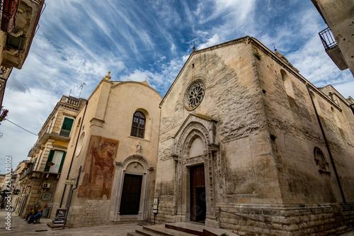 Photo ALTAMURA, ITALY - AUGUST 26, 2018: Amazing church of St