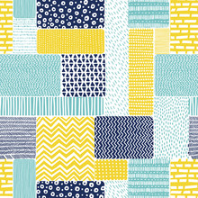 Seamless Pattern In Doodle Style. Patchwork Ornament Drawn By Hand. Boho Print For Textiles. Vector Illustration.