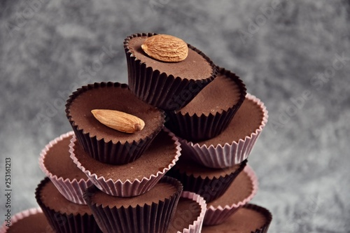 Photo  Keto Chocolate Almond Butter Fat Bombs