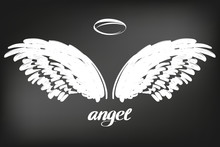 Angel Wings Icon Sketch Collec...