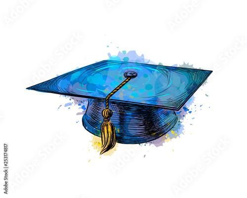 Fotografia Graduation cap, square academic cap