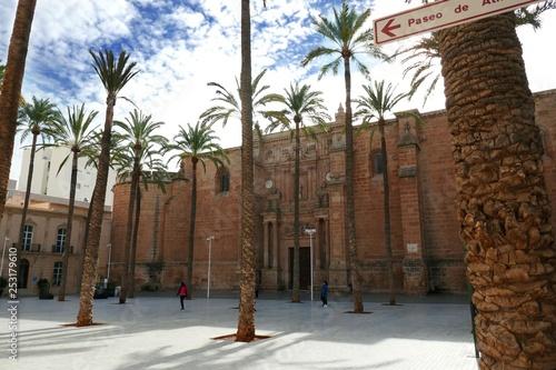 Kathedrale in Almería, Spanien