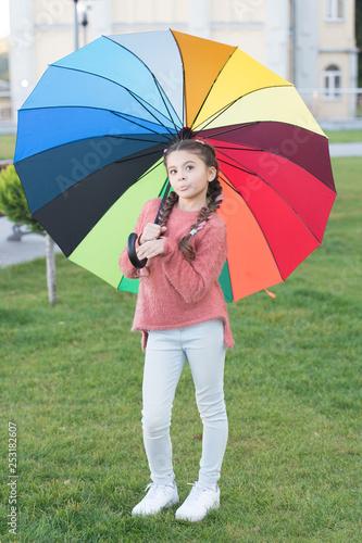 Photo  Under big umbrella