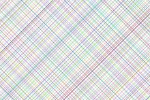 Abstract Pattern Background, Colorful Crossing Line Or Square Grid Mesh