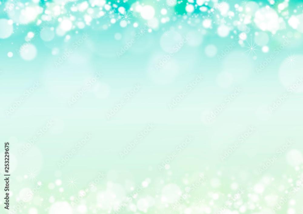 Fototapety, obrazy: 新緑 キラキラ イメージ 背景