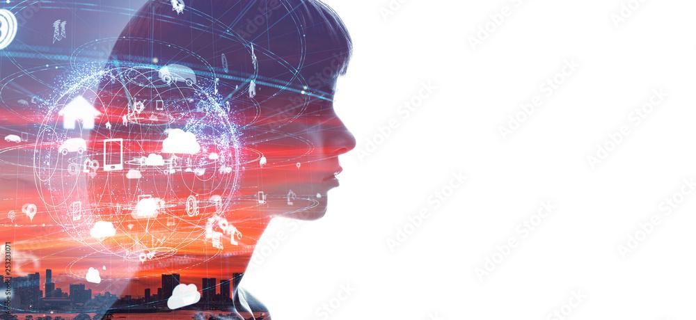 Fototapety, obrazy: AI・人工知能