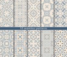 Seamless Pattern In Arabic Sty...
