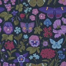 Seamless Botanical Vintage Pat...
