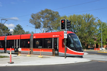 Light Rail In Canberra.Austral...