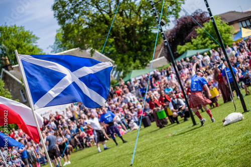 Fototapeta Scottish Highland games obraz
