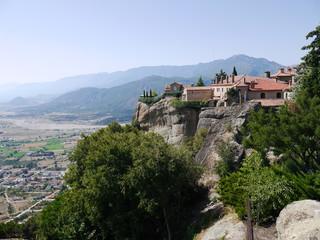 Fototapeta na wymiar Meteora Greece - Монастыри Метеоры в Греции
