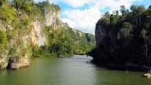 Yumuri River, Baracoa, Cuba, F...