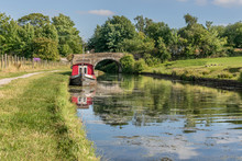 A Canal Barge Moored On The Ca...