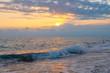 evening sea in Turkey