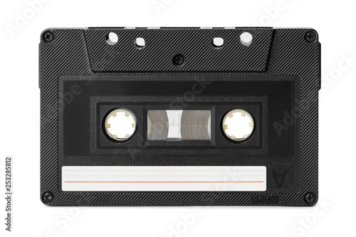 Fotografía  Audio cassette with blank label