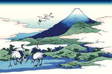 富嶽三十六景 相州梅沢庄 葛飾北斎