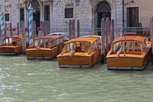 Venice Taxi Boats