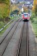 Regional Train in Bonn, Germany