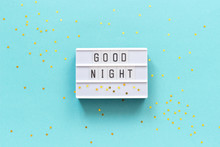 Lightbox Text Good Night And G...