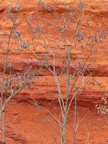 Cadres-photo bureau Brique Les Ocres de Roussillon