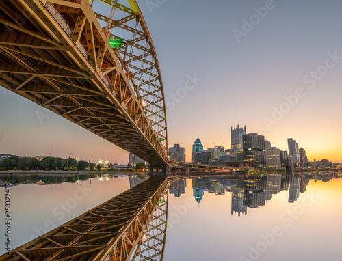 Photo  Pittsburgh Bridges
