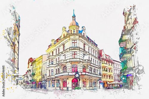 ilustracja-europejskiej-architektury