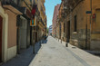 Street in Reus, Catalonia. Shoot in June 2018