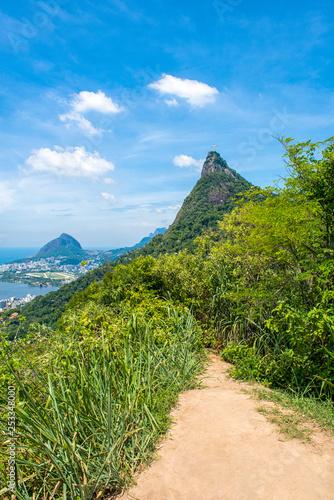 Fotografie, Tablou  Rio de Janeiro et Corcovado