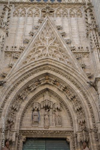 Fotografía  Cathedral Entrance; Seville