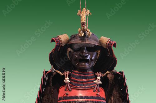 Photo  armure de samourai au japon