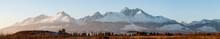 Beautiful Panorama In High Tat...