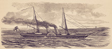 The Imperial Yacht 'Hohenzolle...