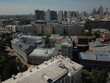 Moscow panorama sky view