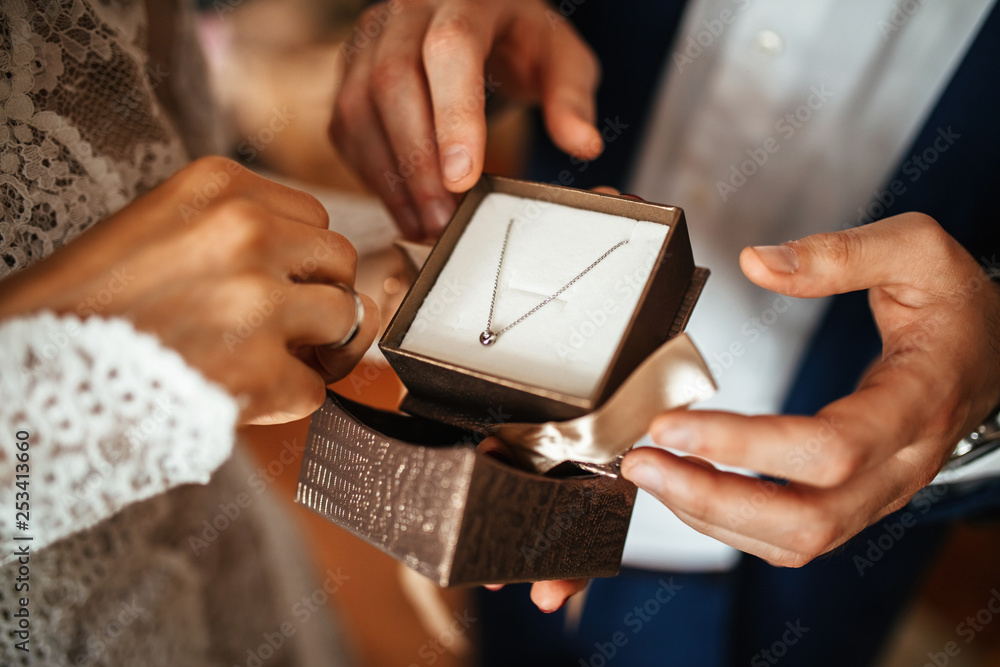 Fototapety, obrazy: Perfect jewerly for perfect wedding day!