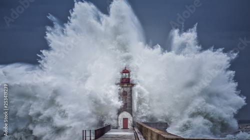 Fototapeta Huge Storm obraz na płótnie